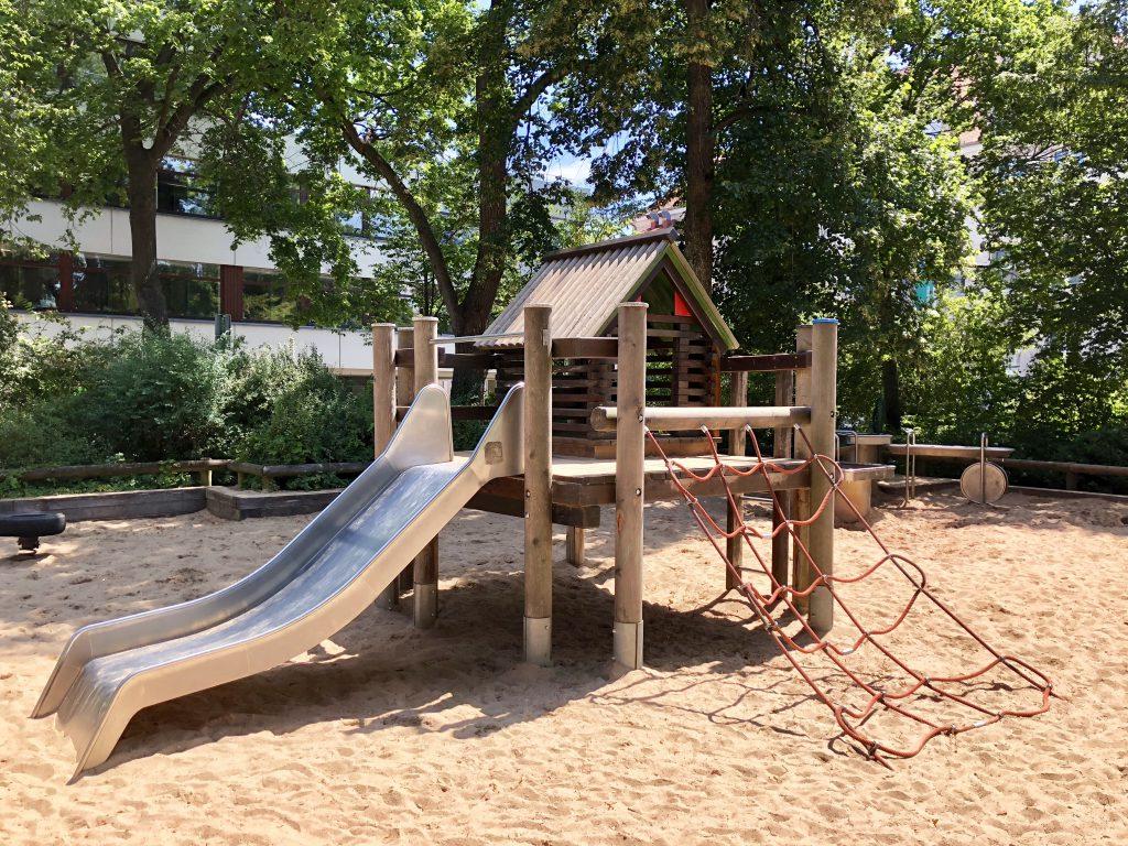 Schattige Wasserspielplatze New Family In Town